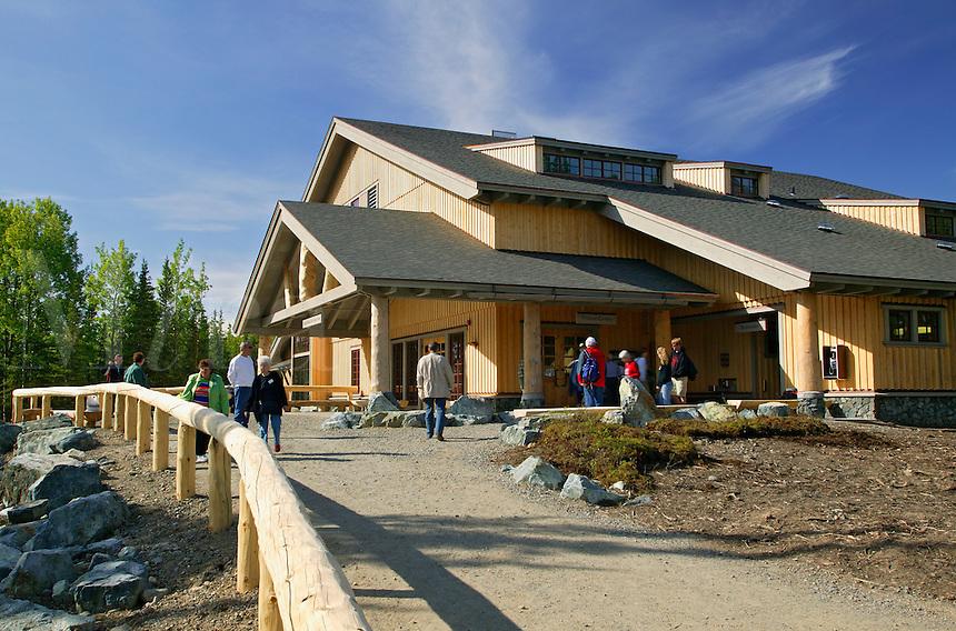 The new (2005) Visitor Center at Denali National Park, Alaska