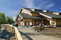 The new (2005) Visitor Center at Denali National Park, Alaska