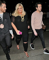 Gemma Collins at the Mark Hill haircare brand launch party, MV Hispaniola, Victoria Embankment, London, England, UK, on Wednesday 07 March 2018.<br /> CAP/CAN<br /> &copy;CAN/Capital Pictures