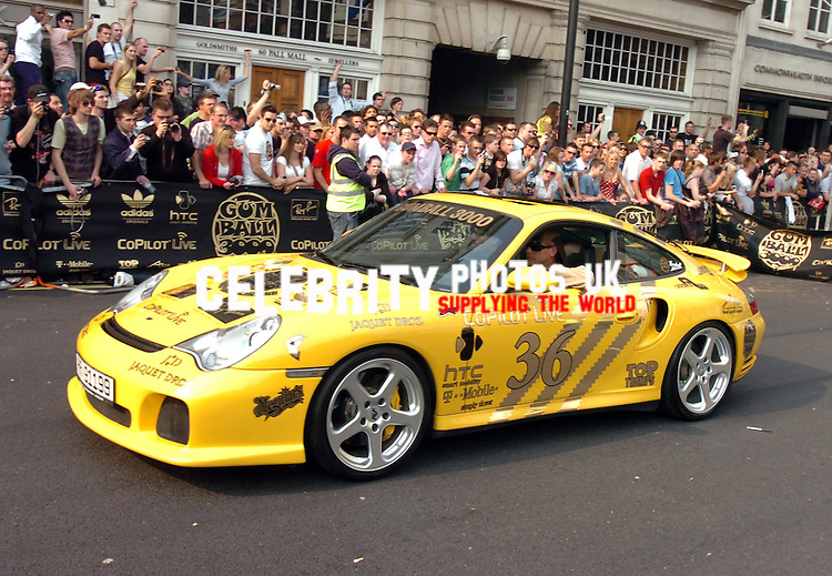 the start of the gumball rally 3000 london.photos andy lowmax
