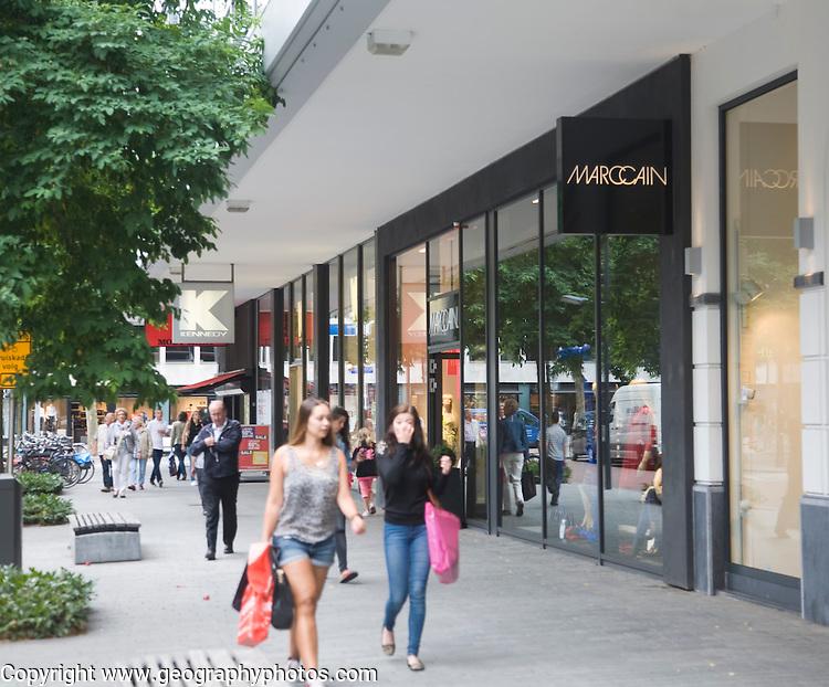 High order shopping Marc Cain shop Rotterdam, Netherlands