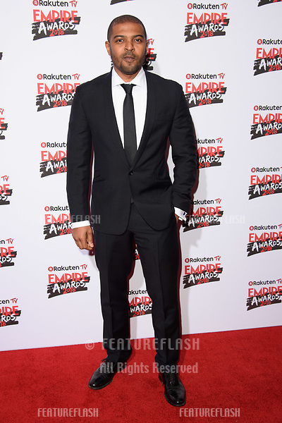Noel Clarke arriving for the Empire Awards 2018 at the Roundhouse, Camden, London, UK. <br /> 18 March  2018<br /> Picture: Steve Vas/Featureflash/SilverHub 0208 004 5359 sales@silverhubmedia.com