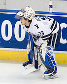 Alec Richards (Yale - 33) - The University of Vermont Catamounts defeated the Yale University Bulldogs 4-1 in their NCAA East Regional Semi-Final match on Friday, March 27, 2009, at the Bridgeport Arena at Harbor Yard in Bridgeport, Connecticut.