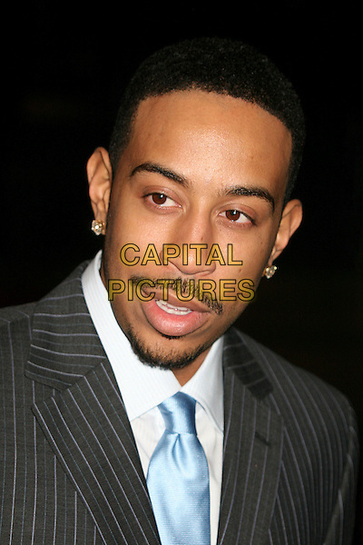 "CHRIS ""LUDACRIS"" BRIDGES.Paramount - DreamWorks Official Golden Globes After Party at The Beverly Hilton Hotel, Beverly Hills, California, USA..January 15t, 2007.headshot portrait goatee mustache facial hair.CAP/ADM/BP.©Byron Purvis/AdMedia/Capital Pictures"
