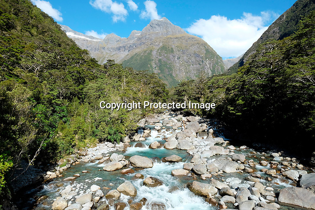 Donne River, Fiordland National Park, New Zealand