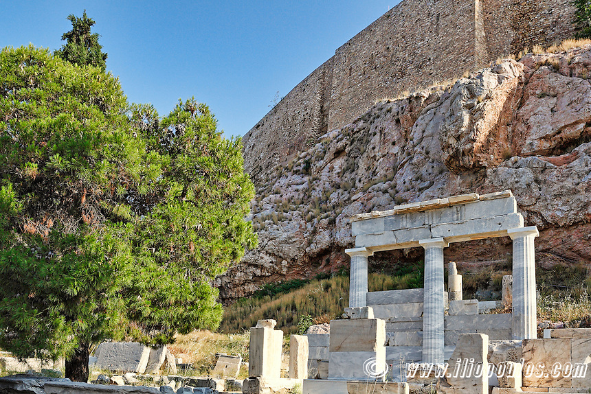 The Sanctuary of Asclepios (420 B.C.), Greece