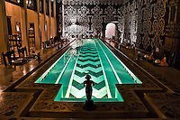 This fabulously imaginative pool table is a beautiful feature of this palace in Rajasthan. (Photo by Matt Considine - Images of Asia Collection)