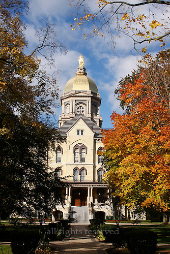 Oct. 29, 2008; South Bend, IN - University of Notre Dame...Photo credit: Darrell Miho