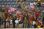 04 June 2008: USA fans, pregame. The Spain Men's National Team defeated the United States Men's National Team 1-0 at Estadio Municipal El Sardinero in Santander, Spain in an international friendly soccer match.