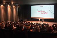 LA SALLE DE PRESENTATION AVEC THIERRY FREMAUX ET ALFONSO CUARON - FESTIVAL LUMIERE 2017 A LYON - JOUR 3