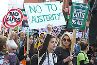 TUC Anti Austerity Demo Manchester (Oct 2015)