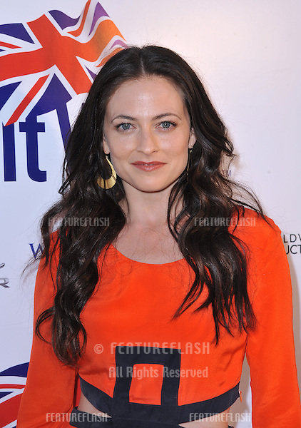 Lara Pulver at the launch party for BritWeek 2013 at the residence of the British Consul General in Los Angeles..April 23, 2013  Los Angeles, CA.Picture: Paul Smith / Featureflash