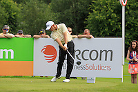 Soren Hansen (DEN) on the 10th tee during Round 2 of the Irish Open at Fota Island on Friday 20th June 2014.<br /> Picture:  Thos Caffrey / www.golffile.ie
