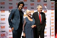 ALI FAZAL, JUDY DENCH AND DIRECTOR STEPHEN FREARS - RED CARPET OF THE FILM 'VICTORIA & ABDUL' - 42ND TORONTO INTERNATIONAL FILM FESTIVAL 2017
