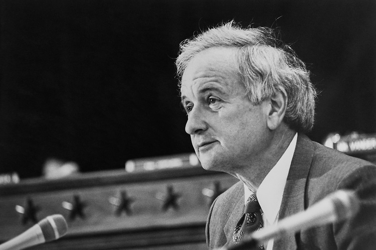 Rep. Sander Levin, D-Mich., in July 1991. (Photo by Maureen Keating/CQ Roll Call via Getty Images)