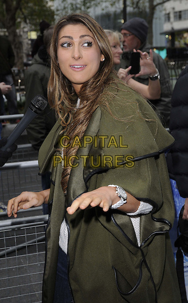 LONDON, ENGLAND - NOVEMBER 17: Luisa Zissman at the &quot;Frozen&quot; VIP film screening, Odeon Leicester Square cinema on November 17, 2013 in London, England, UK.<br /> CAP/CAN<br /> &copy;Can Nguyen/Capital Pictures