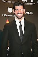 Miguel Angel Munoz attends the Feroz Cinema Awards 2015 at Las Ventas, Madrid,  Spain. January 25, 2015.(ALTERPHOTOS/)Carlos Dafonte) /NortePhoto<br /> <br /> nortePhoto.com