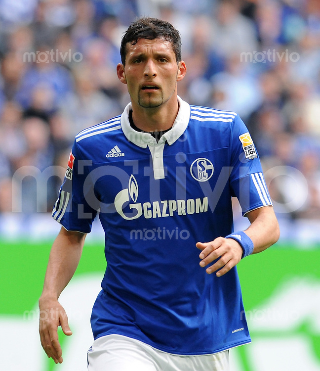 FUSSBALL  1. BUNDESLIGA   SAISON 2009/2010  33. SPIELTAG FC Schalke 04 - SV Werder Bremen                         01.05.2010 Kevin KURANYI (FC Schalke 04)