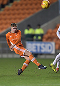 04/12/2018 FA Youth Cup 3rd Round Blackpool v Derby County<br /> <br /> Sam Maddox shoots wide
