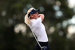 WILMINGTON, NC - OCTOBER 28: Kentucky's Claire Carlin on the 11th tee. The second round of the Landfall Tradition Women's Golf Tournament was held on October 28, 2017 at the Pete Dye Course at the Country Club of Landfall in Wilmington, NC.