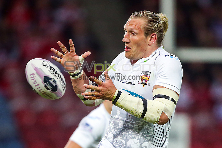 Picture by Alex Whitehead/SWpix.com - 29/05/2014 - Rugby League - First Utility Super League - Huddersfield Giants v Wigan Warriors - John Smith's Stadium, Huddersfield, England - Huddersfield's Eorl Crabtree.