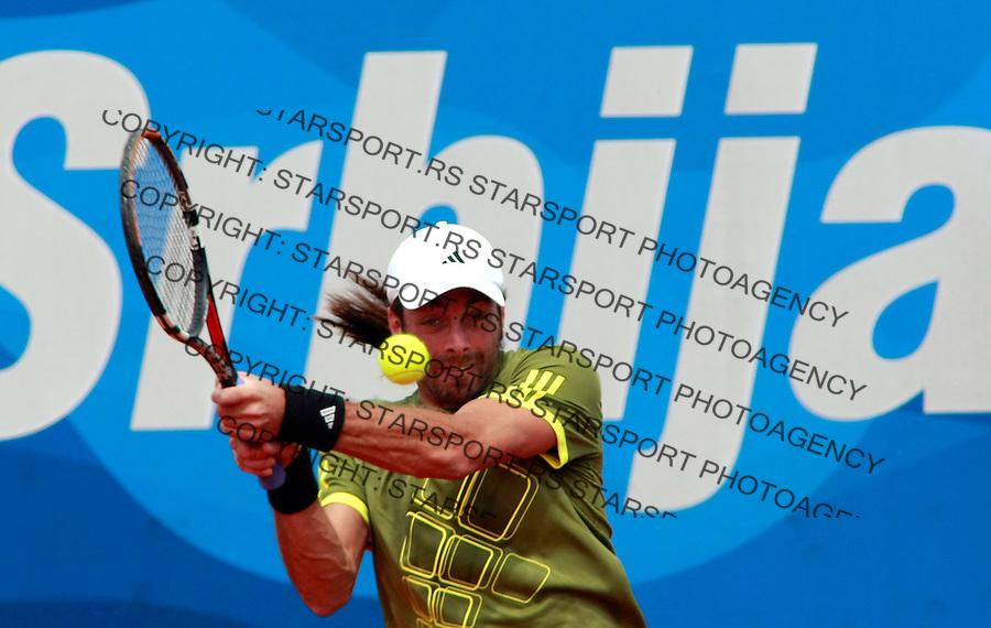 Tenis.ATP Serbia Open 2009.Brian Dabul Vs. Nicolas Massu, first round.Nicolas Massu.Beograd, 05.06.2009..foto: Srdjan Stevanovic/Starsportphoto.com ©