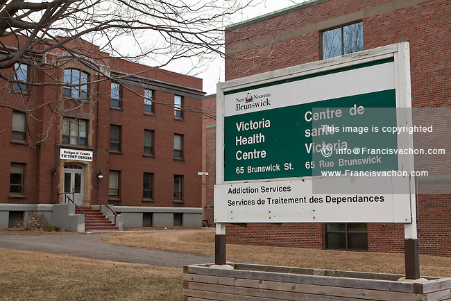 Fredericton Victoria Health Centre hospital is pictured in Fredericton, New Brunswick Wednesday April 4, 2012.