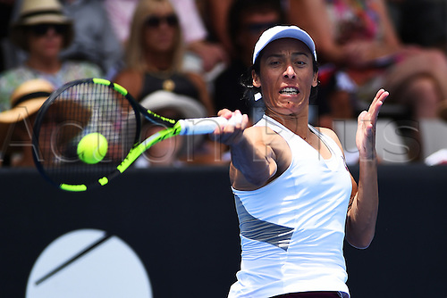 05.01.2016. Auckland, New Zealand. ASB Classic Womens Tennis. Francesca Schiavone (ITA) during the 2016 ASB Classic Womens.