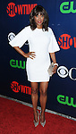 Aisha Tyler arriving at the CBS, CW and Showtime 2015 Summer TCA Party , held at the Pacific  Design Center in Los Angeles, Ca. August 10, 2015