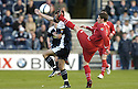02/05/2007       Copyright Pic: James Stewart.File Name : sct_jspa02_raith_rovers_v_stirling_albion.ROSS FORSYTH GOES IN HIGH ON RAITH'S PAUL MCMANUS.James Stewart Photo Agency 19 Carronlea Drive, Falkirk. FK2 8DN      Vat Reg No. 607 6932 25.Office     : +44 (0)1324 570906     .Mobile   : +44 (0)7721 416997.Fax         : +44 (0)1324 570906.E-mail  :  jim@jspa.co.uk.If you require further information then contact Jim Stewart on any of the numbers above.........