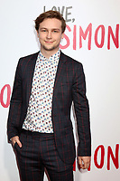 "LOS ANGELES - MAR 13:  Logan Miller at the ""Love, Simon"" Special Screening at Westfield Century City Mall Atrium on March 13, 2018 in Century City, CA"