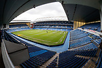 The view of Ibrox Stadium from the dedicated seats for Broxi's Den