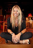 SAO PAULO, SP, 15 DE MARCO 2012. COLETIVA - UMA MULHER DE OUTRO MUNDO. A apresentadora e atriz Adriane Galisteu durante a coletiva de imprensa da peca Uma Mulher do Outro Mundo, que estreia dia 23 de marco no shopping Eldorado, bairro de Pinheiros, regiao oeste de SP, na noite desta quinta-feira, 15. (FOTO: MILENE CARDOSO - BRAZIL PHOTO PRESS)