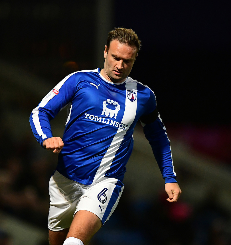 Chesterfield's Ian Evatt<br /> <br /> Photographer Chris Vaughan/CameraSport<br /> <br /> The Emirates FA Cup Second Round - Chesterfield v Wycombe Wanderers - Saturday 3rd December 2016 - Proact Stadium - Chesterfield<br />  <br /> World Copyright &copy; 2016 CameraSport. All rights reserved. 43 Linden Ave. Countesthorpe. Leicester. England. LE8 5PG - Tel: +44 (0) 116 277 4147 - admin@camerasport.com - www.camerasport.com