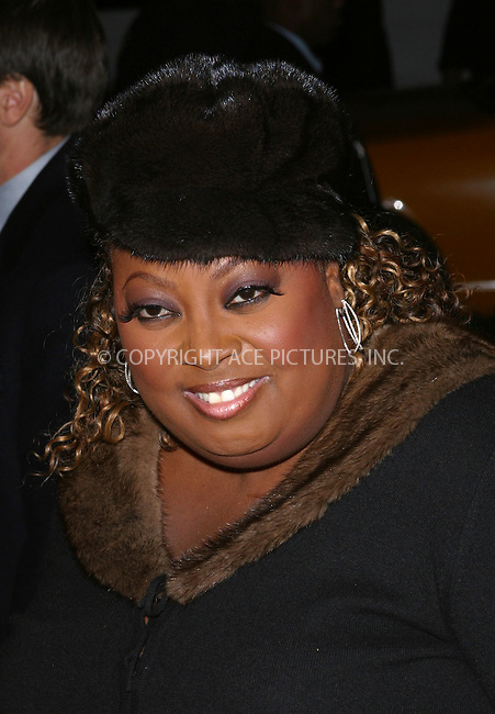 "TV personality Star Jones arrives at the special screening of ""Chicago."" New York, December 18, 2002. Please byline: NY Photo Press. REF: M19 -- THIS REFERENCE CODE MUST APPEAR ON YOUR SALES REPORT, THANK YOU.....*PAY-PER-USE*      ....NY Photo Press:  ..phone (646) 267-6913;   ..e-mail: info@nyphotopress.com"
