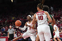 NWA Democrat-Gazette/J.T. WAMPLER Arkansas' beat the University of Alabama at Birmingham's 100-52 Sunday March 24, 2019 at Bud Walton Arena in Fayetteville during the second round of the Women's National Invitational Tournament.