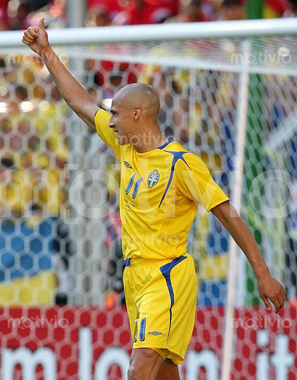 Fussball   WM 2006   Nationalmannschaft Schweden Henrik LARSSON (Schweden)