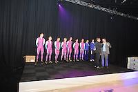 rt Gallery, Perspresentatie Team Beslist.nl, Thomas Krol - Jacques de Koning - Jesper Hospes - Sjoerd de Vries - Hein Otterspeer - Mark Tuitert - Michel Mulder - Jurre Trouw (ass. trainer/coach) - Gerard van Velde (trainer/coach), Directeur Kees Verpalen - presentator Jan van der Meulen, ©foto Martin de Jong