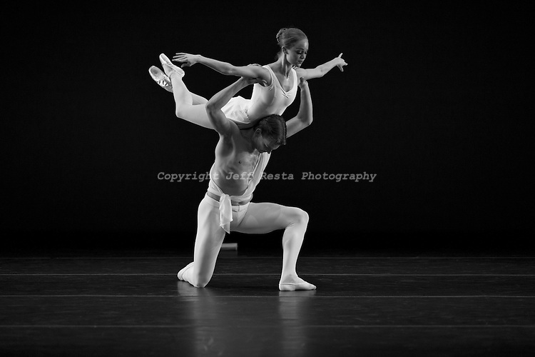 Texas Ballet Theater perform at the Wyly Theater on April 19, 2012 in Dallas, TX.