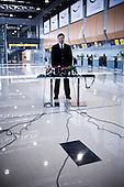 Kharkov 28.08.2010 Ukraine<br /> President of Ukraine Viktor Yanukovych at the new airport in Kharkov.<br /> Kharkov prepares for the UEFA European Football Championships EURO 2012. Many problems affecting the city, lack of maintenance, lack of hotel accommodation and also problems with electricity. Stadium Metalist Kharkiv - One of the main four of Ukrainian stadiums of Euro 2012 is not modernized. Playmaker club matches at the stadium is Metalist Kharkiv.<br /> Photo: Adam Lach / Napo Images<br /> <br /> Prezydent Ukrainy Wiktor Janukowycz na nowym lotnisku w Charkowie.<br /> Charkow przygotowuje sie do Mistrzostw Europy w Pilce noznej Euro 2012. Wiele problemow dotyka miasto, brak remontow, brak bazy hotelowej a ponadto problemy z elektrycznoscia.  Stadion Metalist w Charkowie - Jeden z czterech podstawowych Ukrainskich stadionow zwiazanych z Euro 2012 nie jest modernizowany. Klubem rozgrywajacym mecze na tym stadionie jest Metalist Charkow.<br /> Fot: Adam Lach / Napo Images