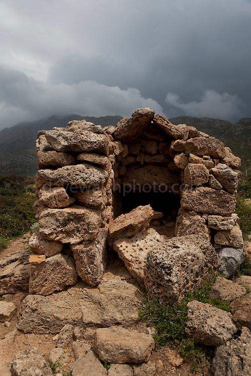 Guardhouse at Ancient Falassarna, Crete