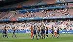 09.06.2019 England v Scotland Women: Scotland applauds the fans