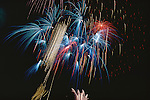 Fireworks, July 4th, Austin, Texas