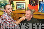 Colman Quirke also went under the blade of Brendan O'Shea in Craineens Bar, Cahersiveen on Friday night last in aid of the Cunamh project and St Ann's hospital Cahersiveen.  Colman said goodbye to his facial hair of 22 years.  He's a new man now.