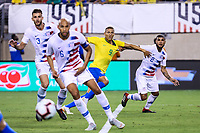 EAST RUTHERFORD, EUA, 07.09.2018 - ESTADOS UNIDOS-BRASIL - Richarlison  do Brasil durante partida contra os Estados Unidos, amistoso internacional no Estádio MetLife na cidade de East Rutherford nos Estados Unidos na noite desta sexta-feira, 07. (Foto: Vanessa Carvalho/Brazil Photo Press)