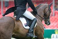 AUS-Peter Atkins (HENRY JOTA HAMPTON) INTERIM-36TH: DRESSAGE: 2014 GBR-CCI4* Mitsubishi Motors Badminton International Horse Trial (Thursday 8 May) CREDIT: Libby Law COPYRIGHT: LIBBY LAW PHOTOGRAPHY - NZL