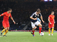 Christophe Berra in the Scotland v Macedonia FIFA World Cup Qualifying match at Hampden Park, Glasgow on 11.9.12.