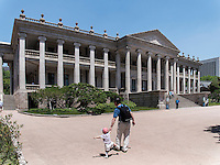 Neohlassizistische Halle Seokjojeon im Palast Deoksugung in Seoul, S&uuml;dkorea, Asien<br /> Hall Seokjojeon in palace Deoksugung, Seoul, South Korea, Asia