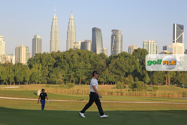 Kristoffer Broberg (SWE) in action on the 10th during Round Four of the Maybank Championship Malaysia 2016, at the Royal Selangor Golf Club, Kuala Lumpur, Malaysia.  21/02/2016. Picture: Golffile | Thos Caffrey.<br /> <br /> All photos usage must carry mandatory copyright credit (&copy; Golffile | Thos Caffrey).
