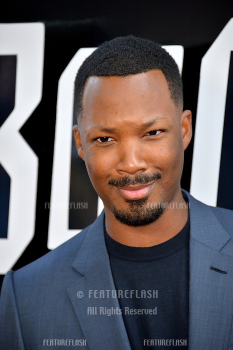 """Corey Hawkins at the Los Angeles premiere of """"BlacKkKlansman"""" at the Academy's Samuel Goldwyn Theatre, Beverly Hills, USA 08 Aug. 2018<br /> Picture: Paul Smith/Featureflash/SilverHub 0208 004 5359 sales@silverhubmedia.com"""